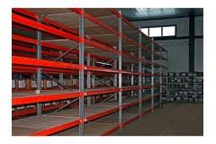 Металлические стеллажи для склада и офиса