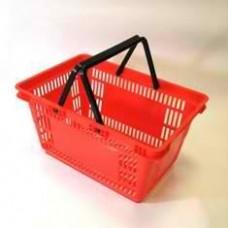 Корзина покупательская из пластика SBP27