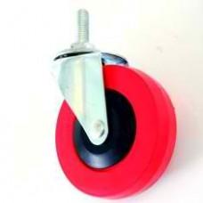 Поворотное колесо для покупательской тележки 4PVC1B